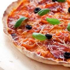 Original Italian Pizza Prosciutto Crudo (in Polish with translator)