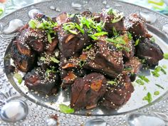 Sous Vide Short Ribs with Asian Style Rub and BBQ Sauce