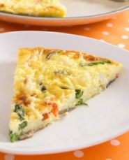 Frittata is an Italian version of an omelette. This healthy recipe for asparagus cheese frittata is perfect for brunch or lunch. Pair it with a salad for a delicious low fat, low carb meal. Visit www.samc.com for more.