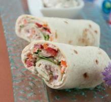 Recette - Wrap de thon - Notée 4/5 par les internautes