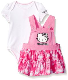 0b6842871 Hello Kitty Baby Girls' 2 Piece Jumper Set -- Insider's special review you  can. Hello Kitty ClothesHello ...