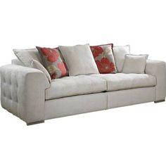 Pandora Pillow Back 4 Seater Sofa