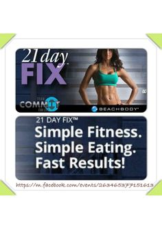 21 Day Fix Beachbody newest workout! Are you ready to commit ??