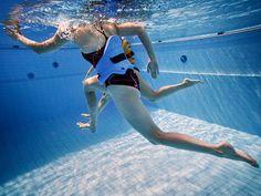 Vesijuoksun ohjeet ja tekniikka Water Aerobics, Free Time, Fitness Motivation, Exercise Motivation, Hobbies, Health Fitness, Swimwear, Dance, Running