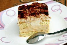 NapadyNavody.sk   Nepečený vanilkový dezert Tiramisu, Cake Recipes, Cooking Recipes, Sweets, Ethnic Recipes, Food, Cakes, Easy Cake Recipes, Food Recipes