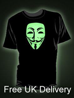 New glow in the dark t-shirt design