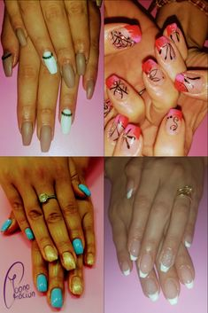 Different models of Gel Nails Gel Nails, Models, Beauty, Color, Colour, Gel Nail, Beauty Illustration, Model, Colors