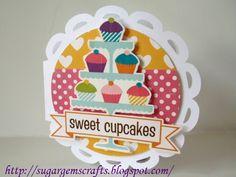 Cupcakes RULE! - Scrapbook.com - #scrapbooking #cardmaking #echopark