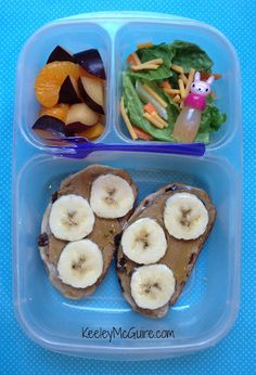 Lunch Made Easy: Silly Monkey Sandwich!   Great School Lunchbox Ideas for Kids