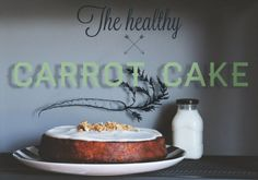 ...Sugar&Dinosaurs...: The Healthy Carrot Cake