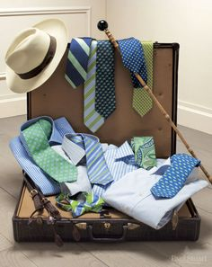 Great shirts and ties!