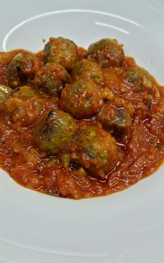 Recipies, Pasta, Ethnic Recipes, Blog, Vegan Meatballs, Stew, Eggplants, Legumes, Easy Food Recipes
