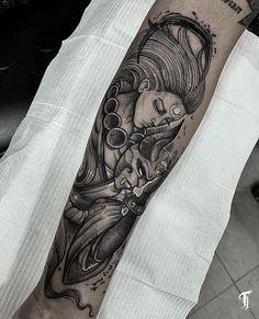 Tatuadores para você agendar sua tatuagem (2021)! - Blog Tattoo2me Tattos, Doodles, Sketch, Dots, Drawings, Illustration, Model, Blog, Design