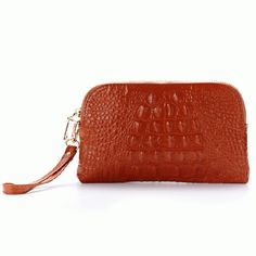 Material:Genuine Leather   	 Color:Black,Blue,Purple,Rose Red,Brown,Yellow,Pink   	 Weight:200g   	 Length:21cm(0.79'')   	 Width:1cm(0.39'')   	 Height:12cm(4.72'')   	 Interior:Main Pocket,Phone Pocket,Zipper Pocket   	 Closure:Zipper 	                         	Package Include: 	1 * Wallet