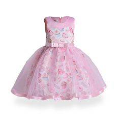 Kids Dress Summer Mesh Sleeveless Bow Sundress Cute Candy Ice cream Baby Girls Ball Gown Dresses Children Clothes Christmas - Baby clothing boy, Baby clothing girl, Gender neutral and baby clothing Ball Gown Dresses, Tulle Dress, Pink Dress, Dress Girl, Party Dresses, Wedding Dresses, Princess Flower Girl Dresses, Flower Girls, Cute Dresses