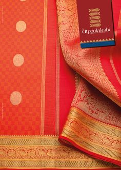 Can one help but ogle at this Orange stunner? Basket-weave pattern rules the body of the saree, with golden bhuttis thrown in for good measure. A line up of royal majestic elephants and graceful annapakshi flank the grand border. A perfect drape to match your flamboyant mood.#Utppalakshi #Sareeoftheday#Silksaree#Kancheevaramsilksaree#Kanchipuramsilks #Ethinc#Indian #traditional #dress#wedding #silk #saree#craftsmanship #weaving#Chennai #boutique #vibrant#exquisit #pure…