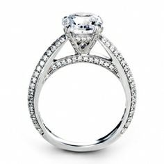 SimonG Engagement Ring Steve Quick Jeweler Chicago
