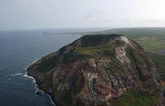 images of mount suribachi   Mount Suribachi up close. Picture taken May 2003 during CVN-70 westpac ...