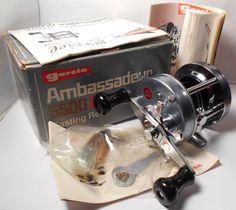 WOW! Vintage MINT Abu Garcia Ambassadeur 5500 C Baitcasting #770603 Fishing Reel #AbuGarcia