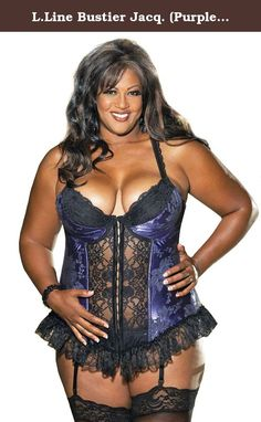 bd926472811 Shirley of Hollywood Women s Plus-Size Satin Tapestry Long Line Bustier  http
