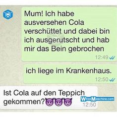 Lustige WhatsApp Bilder und Chat Fails 222 – Krankenhaus Funny WhatsApp pictures and Chat Fails 222 – Hospital Funny Test, 9gag Funny, Funny Fails, Funny Jokes, Funny Images, Funny Pictures, Whatsapp Pictures, Funny Animal Quotes, Whatsapp Message