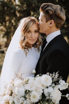 modest wedding dress with long sleeves from alta moda bridal (modest bridal gown. - modest wedding dress with long sleeves from alta moda bridal (modest bridal gowns) photo by ashley rae Source by - Wedding Goals, Wedding Pics, Wedding Couples, Hipster Wedding, Destination Wedding, Wedding Planning, Perfect Wedding, Dream Wedding, Wedding Day