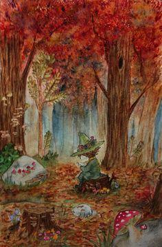 snufkin from moomin. Moomin Wallpaper, Moomin Valley, Tove Jansson, All Nature, Fauna, Troll, Cute Art, Vintage Posters, Art Inspo