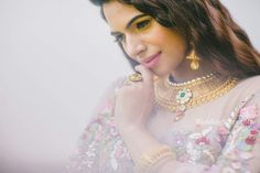Ethnic kudan stoned beautiful neckpiece #weddingsutracontest   ❤❤