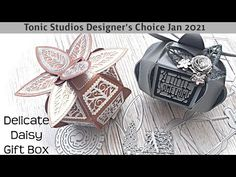 Designer's Choice Jan2021 - Delicate Daisy Gift Box - YouTube Michael Kors Watch, Daisy, Delicate, Box, Studios, Designers, Gifts, Youtube, Snare Drum