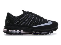 detailed look 06430 174cf Officiel Nike Air Max 2016 Chaussures Nike Running Pas Cher Pour Homme Noir  Blanc