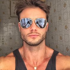 Hipster men Ray Ban Sunglasses Sale, Sunglasses Outlet, Mens Sunglasses,  Hipsters, Men 5faf56ff36