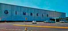 pictures of gimbels paramus nj | The Gimbels store at the Garden State Plaza in Paramus (undated ...
