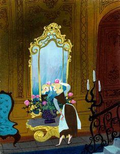 Cendrillon/Cinderella - Illustration by Mary Blair