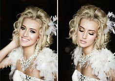 So beautiful, wedding hair and make up! From www.http://danielusenko.com #wedding #bride
