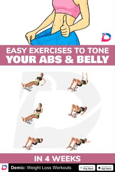 Mini Workouts, Gym Workout Videos, Gym Workout For Beginners, Abs Workout Routines, Easy Workouts, Fitness Herausforderungen, Fitness Workout For Women, Fitness Studio Training, Lower Belly Workout