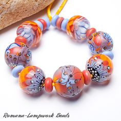 Lampwork Beads by Romana / August 2013
