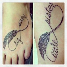 Sis & I tattoos