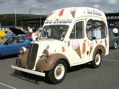 Ford E93 Ice Cream Van