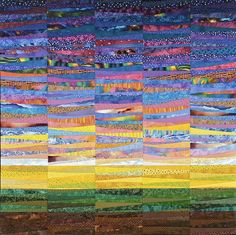 The Quilts of Ann Brauer: the colors of mud