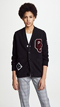 New Opening Ceremony Varsity Cotton Cardigan online. Find the  great L'AGENCE Clothing from top store. Sku zgyw96476vczr54025