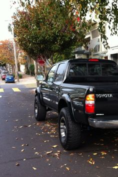 Own a Toyota truck... very different from a Jag haha