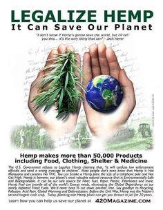 save the world with hemp