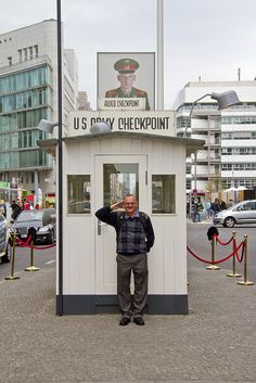 Berlin - Checkpoint Charlie by Canon John's 7D, via Flickr
