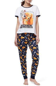 Topshop 'Lady & the Tramp' Pajamas