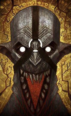 Darkspawn Emissary tarot card, Dragon Age: Inquisition
