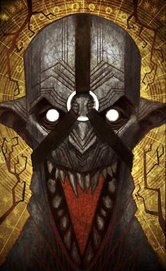 Darkspawn Emissary tarot card, Dragon Age: Inquisition
