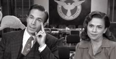 Exclusive clip: Hayley Atwell, James D'Arcy 'bicker' behind-the-scenes of 'Agent Carter' season 2