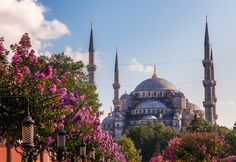 The Sultan Ahmed Mosque is an historical mosque in Istanbul. The mosque is popularly known as the Blue Mosque for the blue tiles adorning the walls of its interior. It was built from 1609 to 1616, during the rule of Ahmed I.   Jon & Tina Reid   |    Portfolio    |  Blog