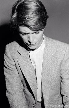 David Bowie 1978 by Youri Lenquette