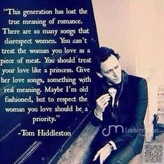7. Tom #Hiddleston - Wait Till You See What These #Celebs Say #about Love ... → Love #Celeb